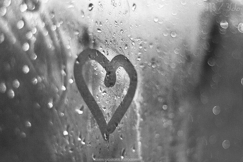 Сердце на окне картинки