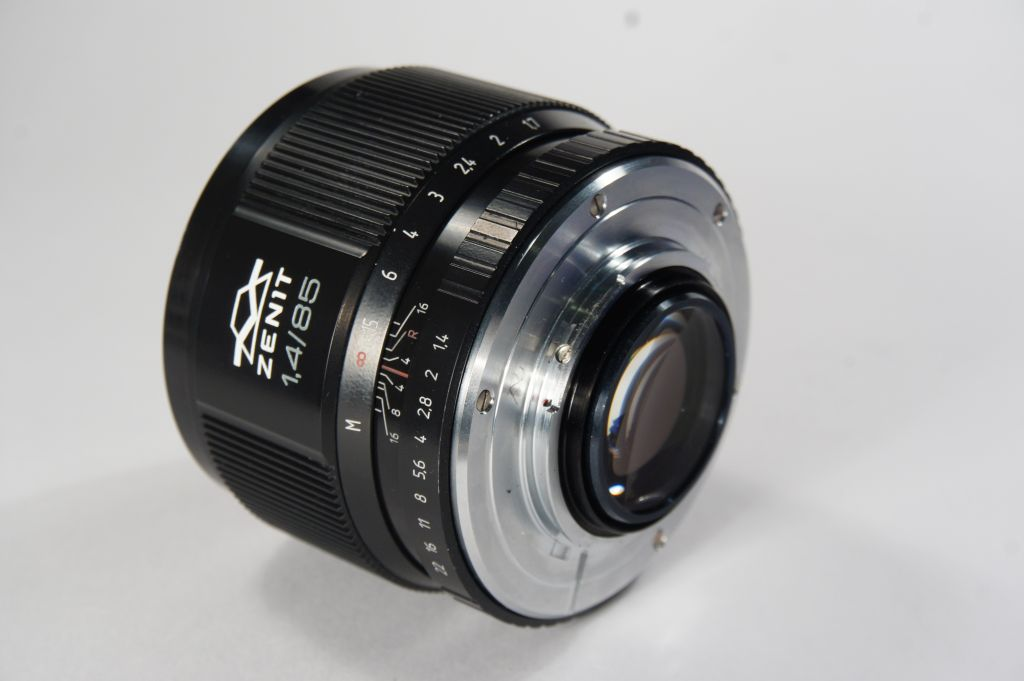 Mc Zenitar Helios 40 85mm F 1 4 Lens Nikon Built In F Mount New Model