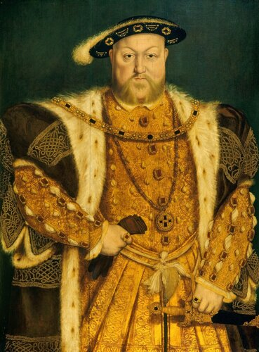 Henry VIII (1) by Hans Holbein the Younger