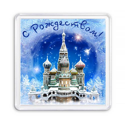 МАГНИТ АКРИЛОВЫЙ / РОЖДЕСТВО (арт. 000429)