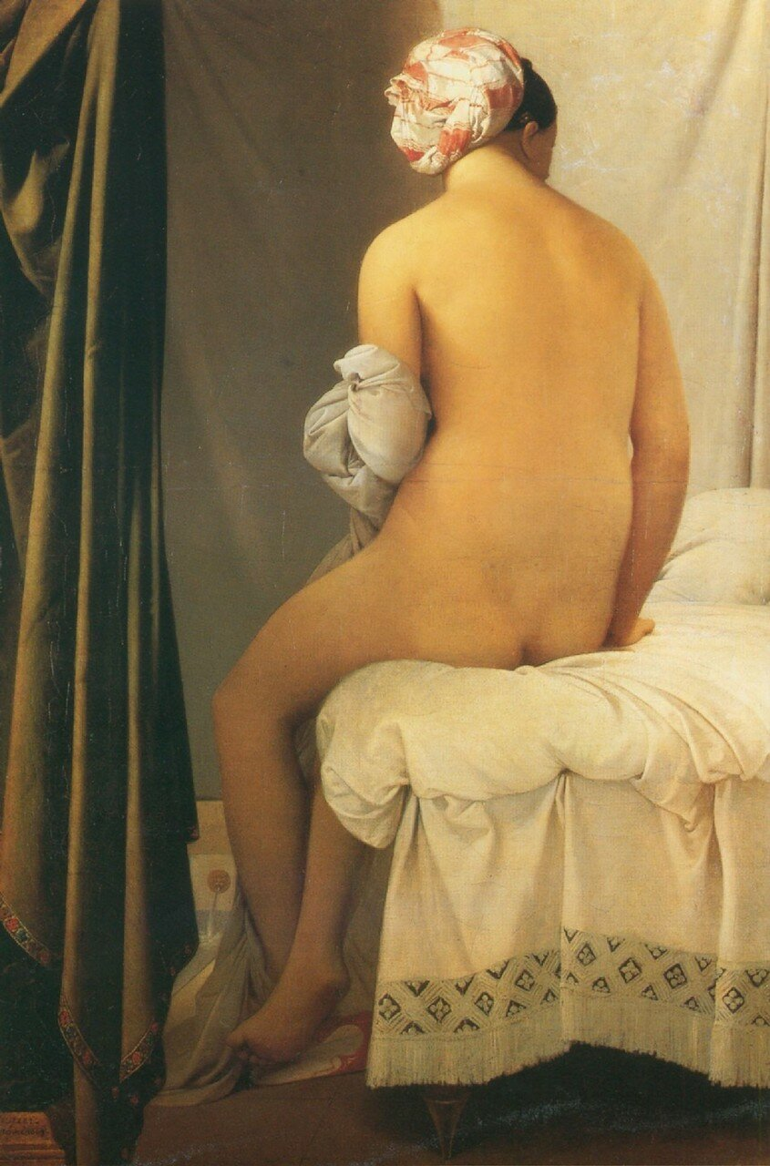Abrupt Clio Team 1808 Ingres, La baigneuse dite de ValpinЗon The bather known as of ValpinЗon.jpg