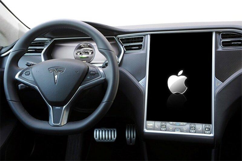 Компания Apple покупает производителя электромобилей Tesla