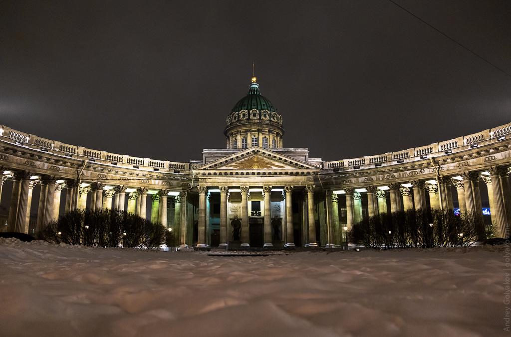 Фото Казанского собора в Петербурге