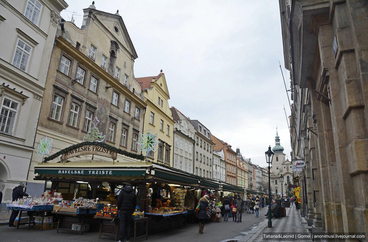 Базар в Праге
