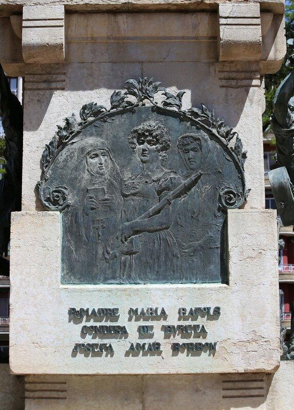 Agustina de Aragón monument, Zaragoza