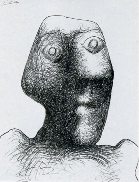 Пабло Пикассо в автопортретах