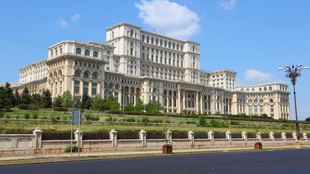 Один изсамых знаменитых архитектурных памятников Бухареста построен вовремена Социалистической Рес
