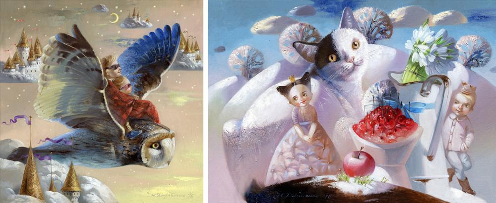 Наталья Деревянко— создатель детских снов, которые несут доброту идушевное спокойствие. Однажды ее