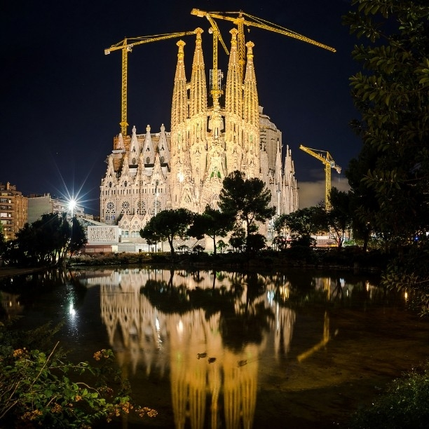 Красивая архитектура Барселоны Instagram фото 9