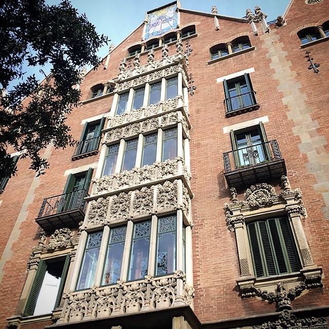 Красивая архитектура Барселоны Instagram фото 21
