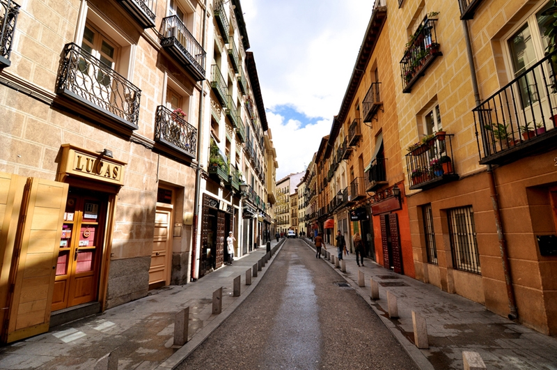 Улицы и архитектура Мадрида фото 22