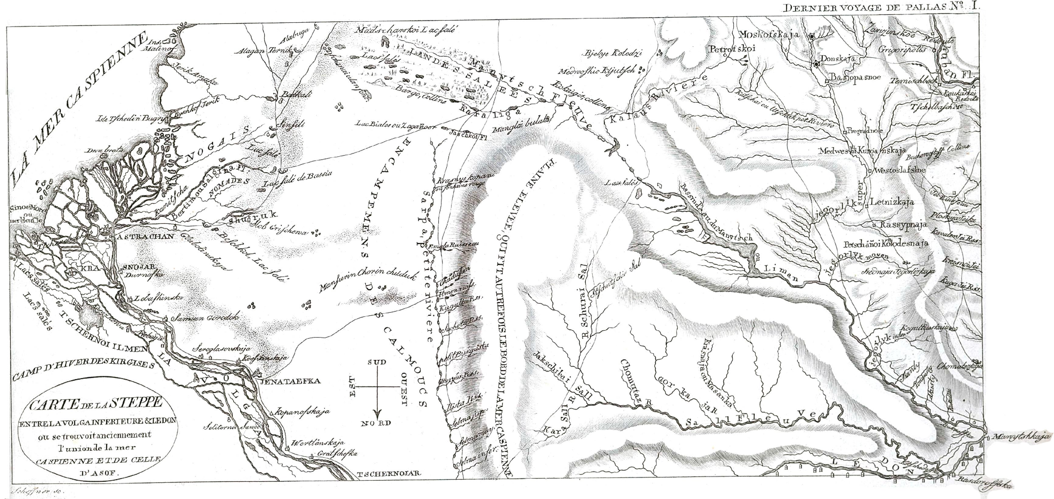 Паллас, П.С. Наблюдения, сделанные во время путешествия по южным наместничествам Русского государства в 1793 и 1794 годах.