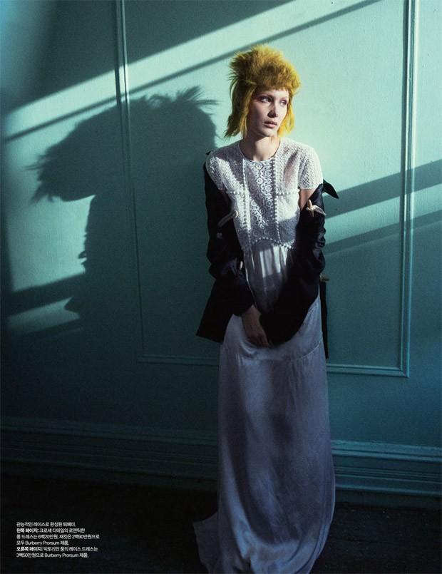 Bella Hadid for Harper's Bazaar Korea by Nick Hudson