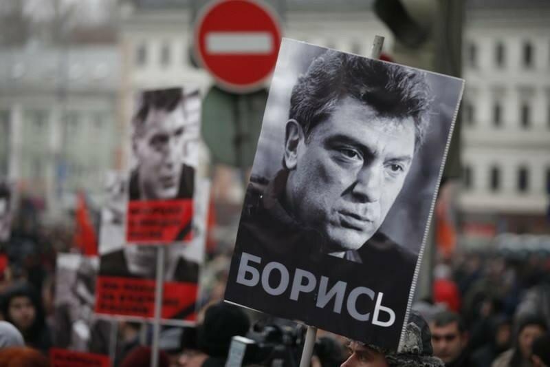 Марш памяти Немцова согласован в центре Москвы