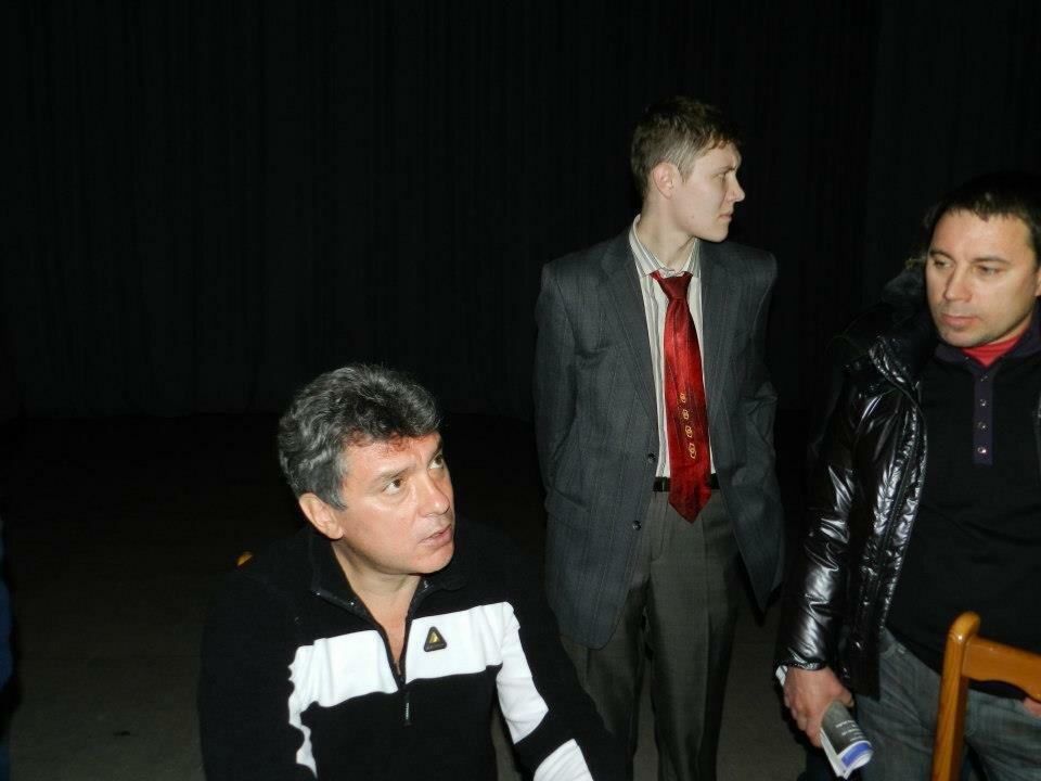Денис Стяжкин и Борис Немцов