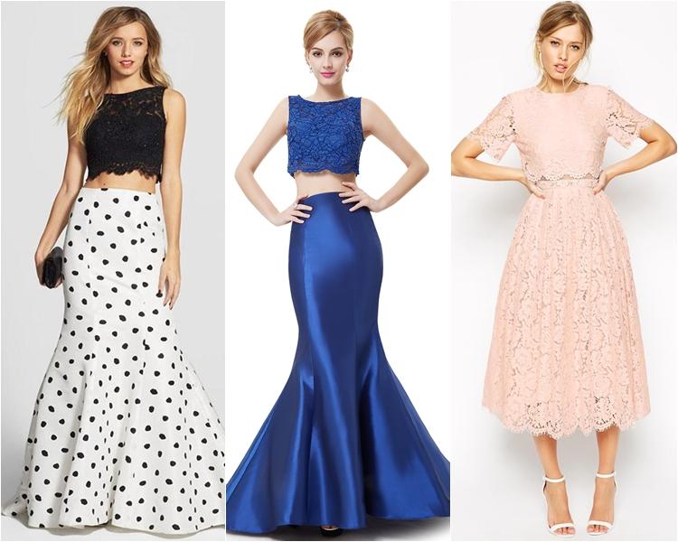Стильные платья на выпускной