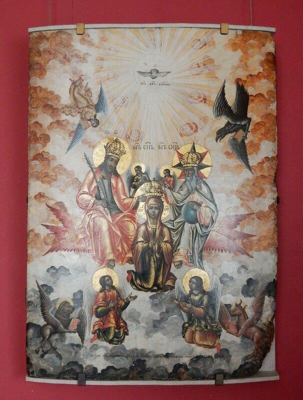"""Икона """"Коронование Богоматери"""""""