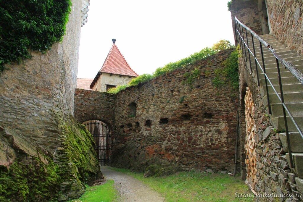 Чехия, замок Пернштейн