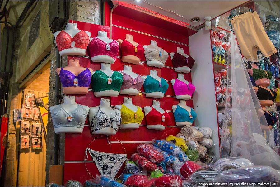 Нижнее белье в Иране