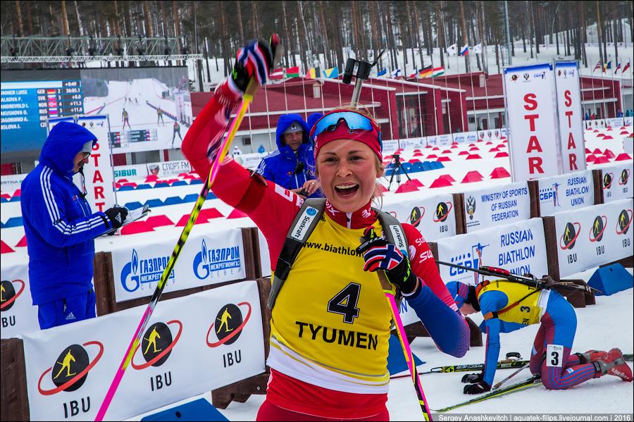 Чемпионат Европы по биатлону в Тюмени