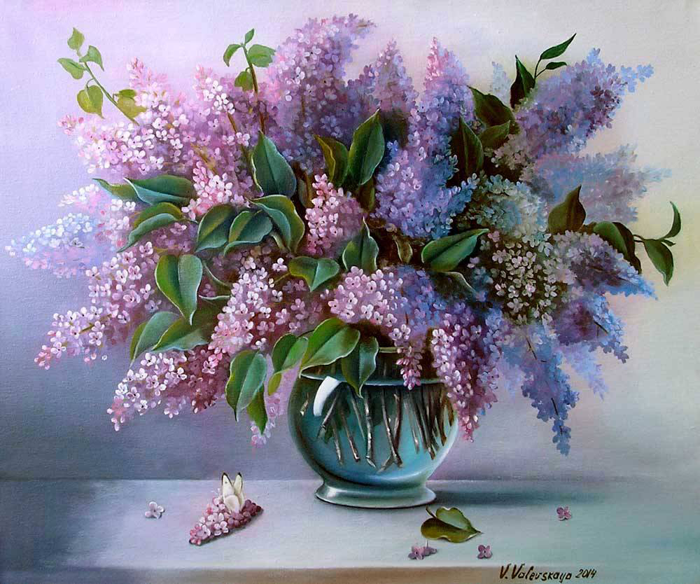 Рисунок подсолнухи в вазе 6