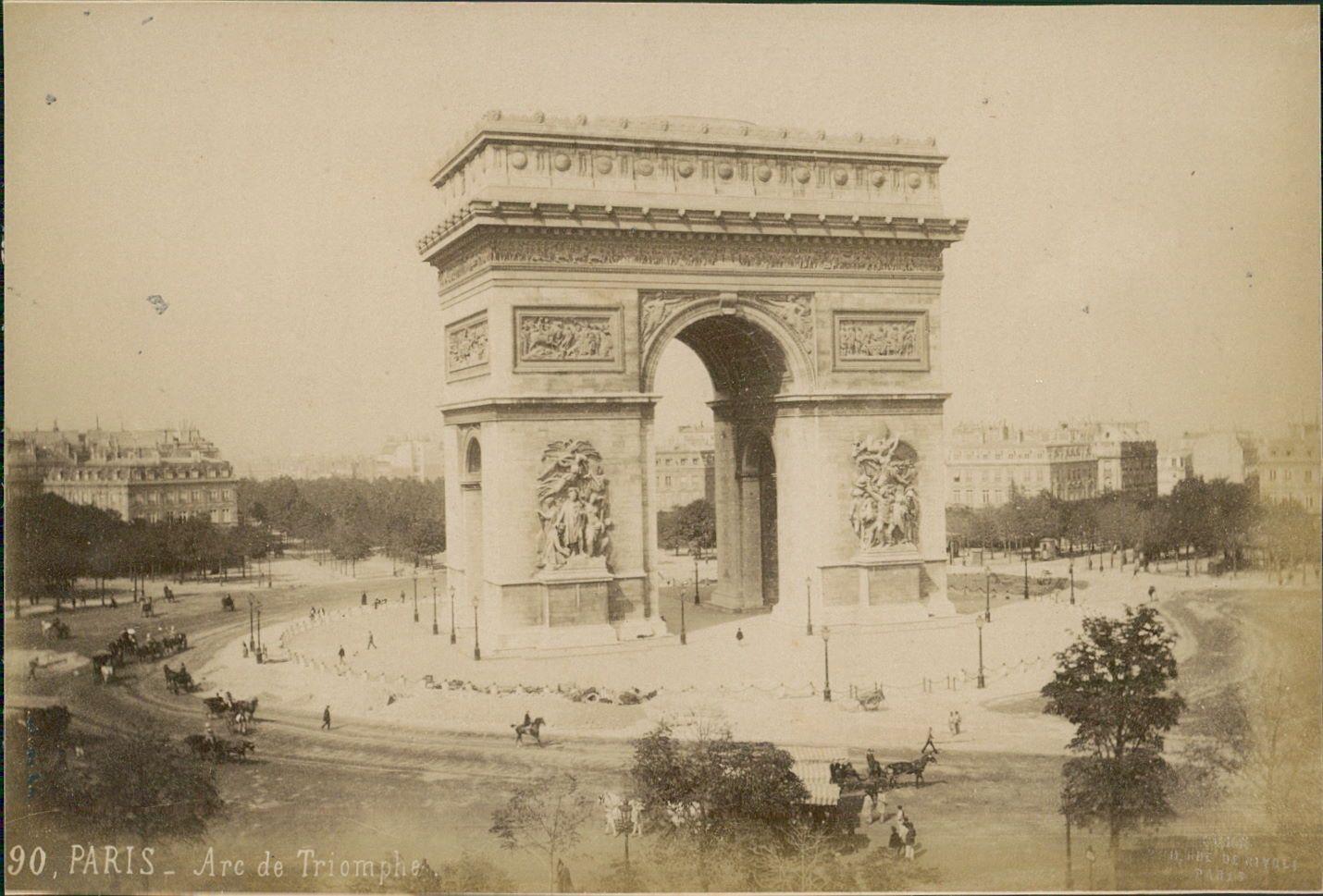 1889. Триумфальная арка