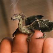 Дракон на руке