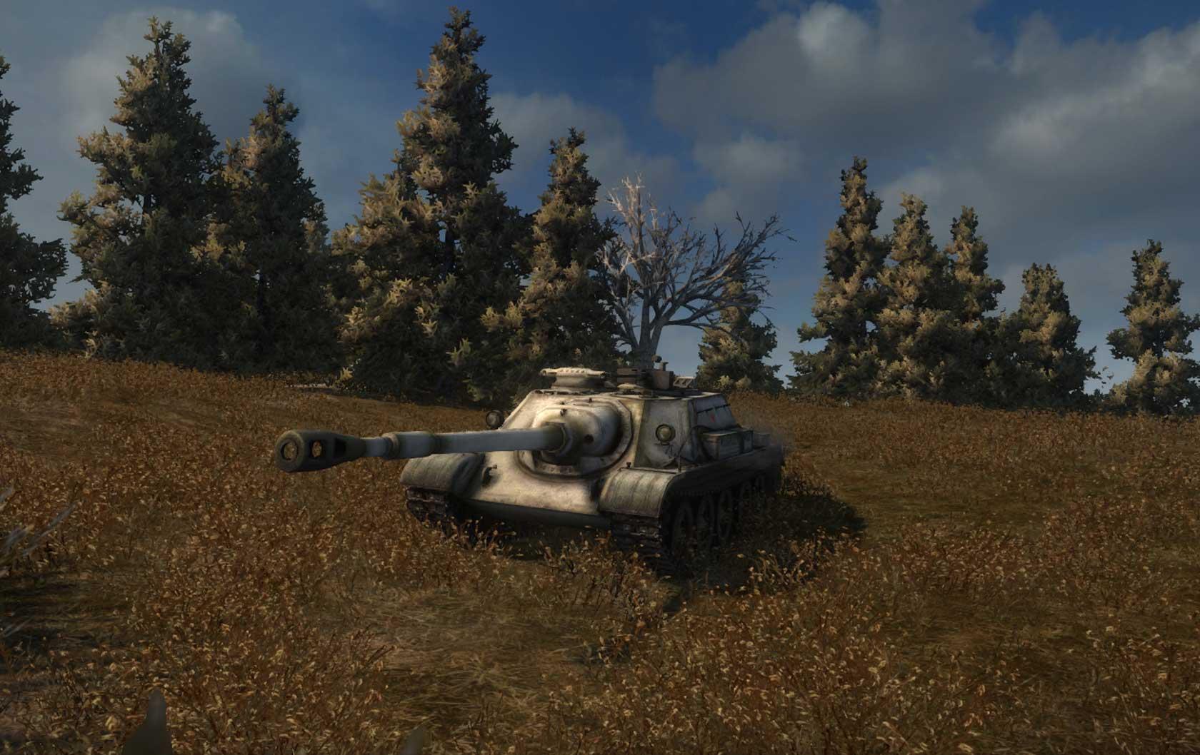 СУ-122-54, СУ 122 54, su 122 54, СУ-122-54 в World of Tanks, танк СУ-122-54
