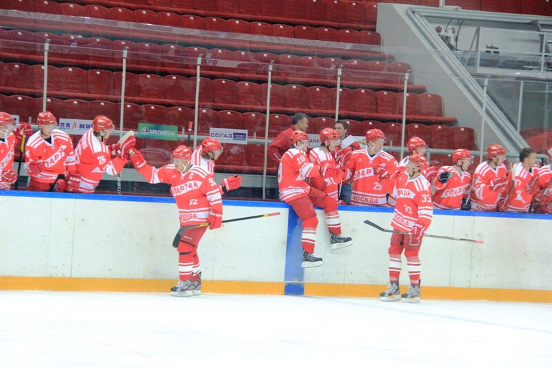 «Спартак» vs «Ак Барс» 6:1 контрольный матч 2012 (Фото)