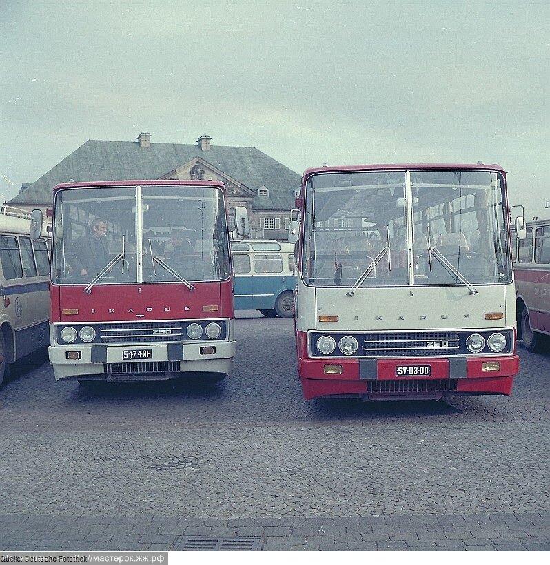 современных автобусов с