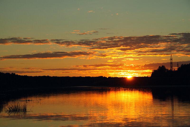Закат над Сухоной