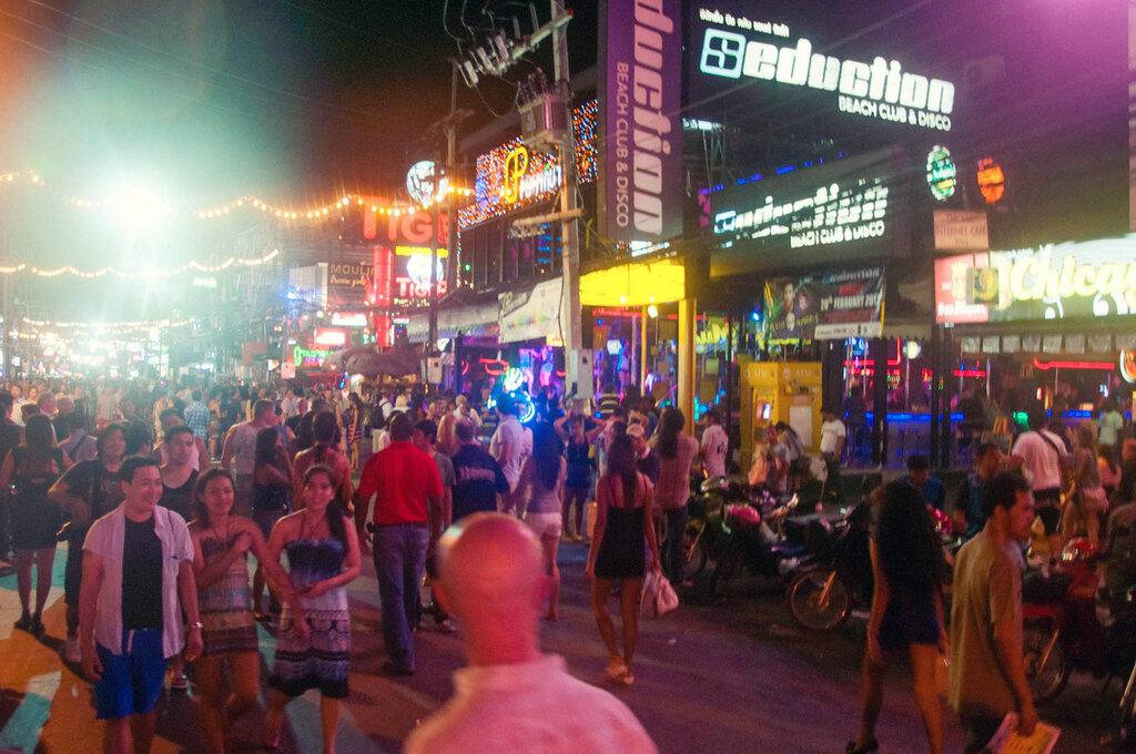 Волкинг стрит, Тайланд, Пхукет