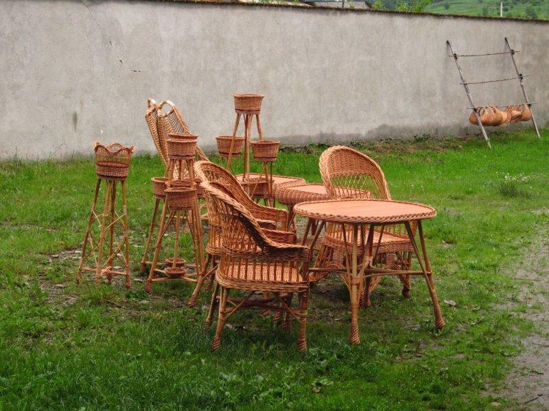 Мебели из лозы своими руками фото