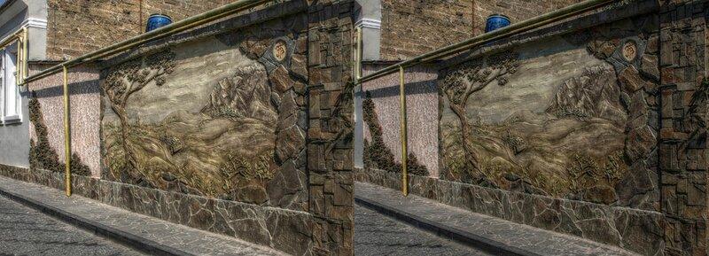 Евпатория. Стереопара, перекрёстная стереопара, 3D, X3D, стерео фото, crossstereopairs, stereo photo, stereoview