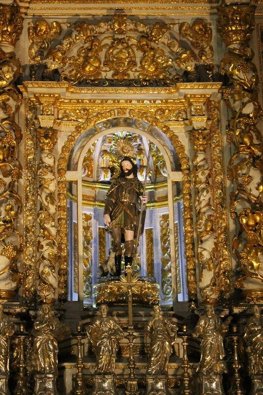 Interior of church of St. Roch (Igreja de São Roque), Lisbon