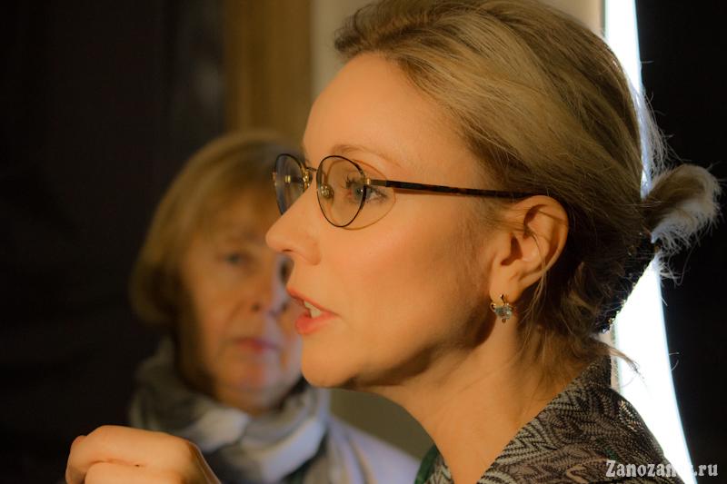 Марина Зудина. Жена Олега Табакова.