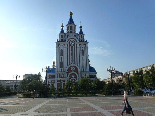 Чудом уцелевший храм Хабаровск