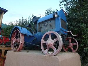 достопримечательности иркутска - трактор