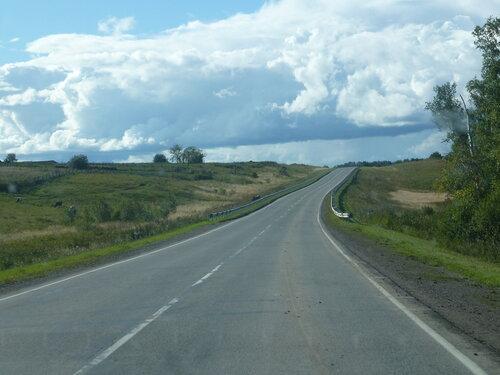 Сибирская дорога у Томска