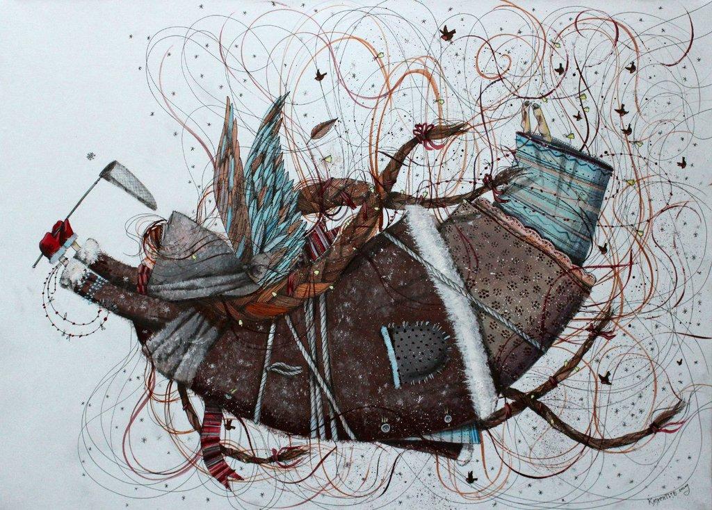 Ульяновский художник Pavel Klementev. Живопись и графика
