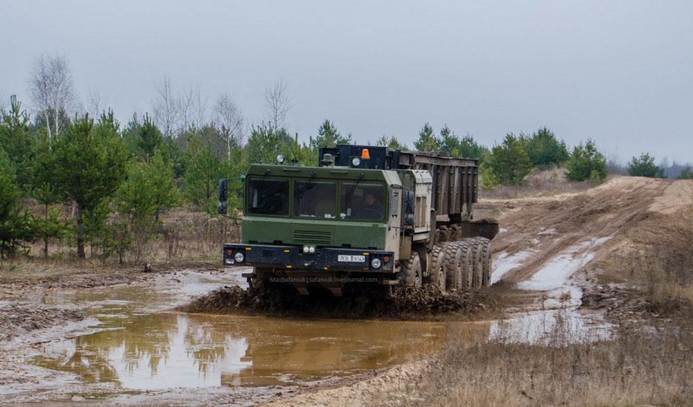 МЗКТ-79291 на испытаниях