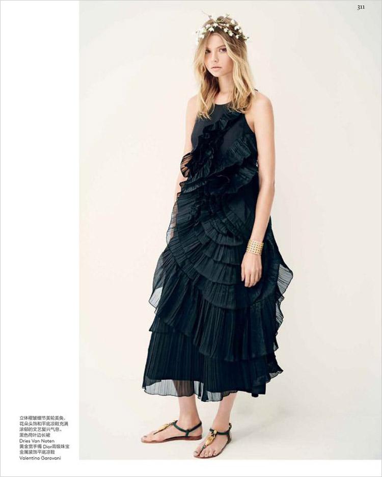 Магдалена Фраковяк в журнале Vogue China