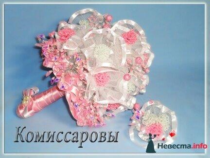 Телефон: www.biser-best.okis.ru. букет сделан из бисера, бутоньерка в подарок.