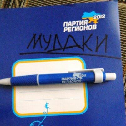 подарок детям от партии регионов