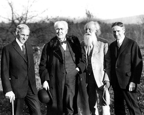 Старинные друзья: Генри Форд, Томас Эдисон, Харви Файрстоун и другие