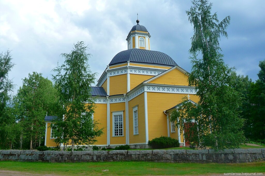 Luumäki. Лютеранская церковь, 1845 г.