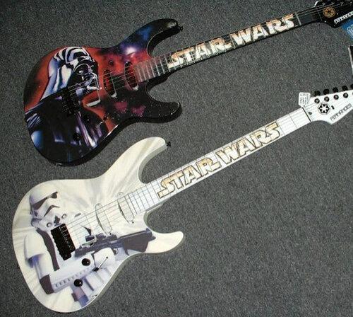 Гитары в стиле звездных воин
