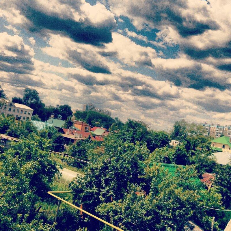 Облака идут в осень