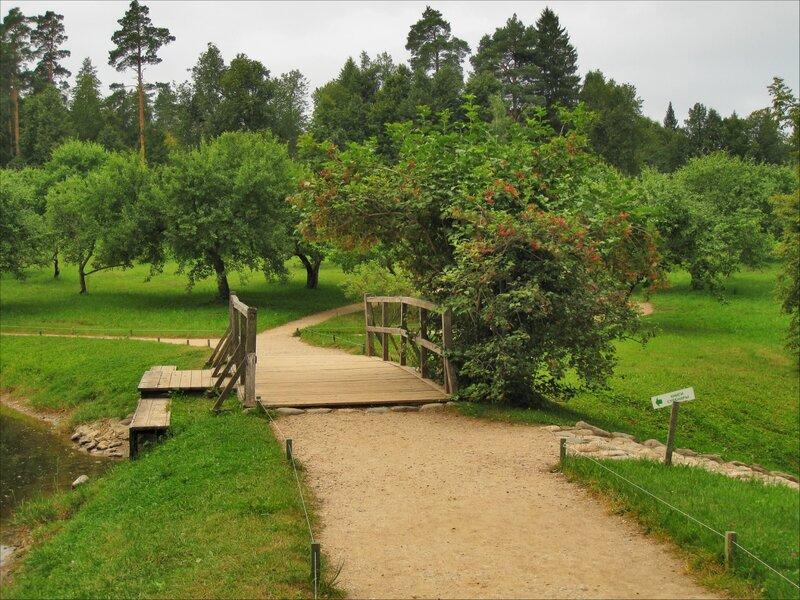 Пушкиногорье, Михайловское, Мостик