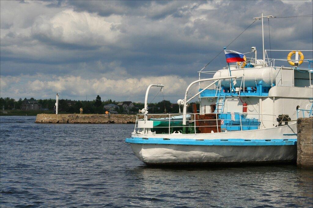 Шлиссельбург, Вход в Новоладожский канал